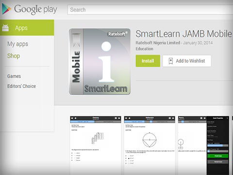SmartLearn JAMB Mobile on Google Play Store